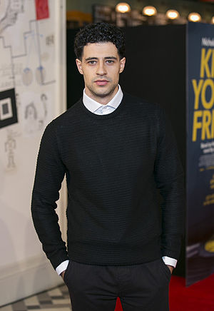 David Avery - Avery at Kill Your Friends premiere, London 2015