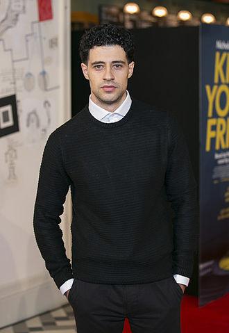David Avery - Avery at Kill Your Friends premiere, London 2015