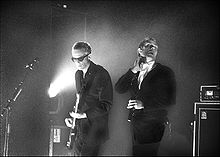 David J and Peter Murphy in London February 3 2006.jpg