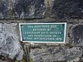David Steel Monument Restoration Plaque - September 16, 1979 - Lesmahagow, Scotland.jpg