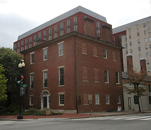 Decatur House - North side of Decatur House as restored 2006–2008.