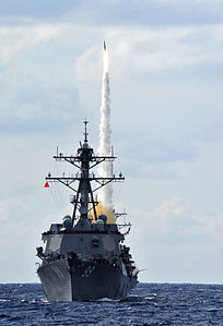 Defense.gov News Photo 120321-N-QL471-059 - A Standard Missile SM 2 is fired from a launcher during a live-fire exercise aboard the guided-missile destroyer USS Farragut DDG 99 in the.jpg