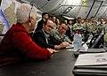 Delaware senator visits JFC-UA service members in Liberia 141220-A-YF937-929.jpg