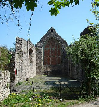 Denbigh - Image: Denbigh Friary
