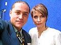 Denise Maerker Salmón y Fotógrafo Armando Olivo.jpg