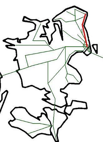 Coast Line (Denmark) - Image: Denmark Railways 2006 Kystbanen