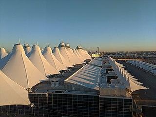 Denver International Airport Airport in Denver, Colorado, United States