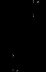 Strukturformel des Dequalinium-Kations