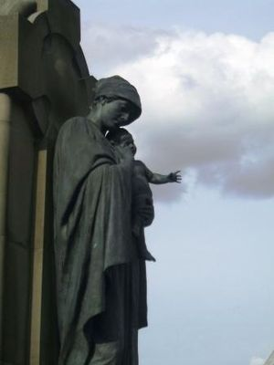 Arthur George Walker - Image: Derby War Memorial Side View