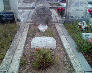 Dermot Morgan - Dermot Morgan's Grave in Deansgrange Cemetery, south County Dublin