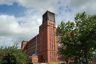 Belper - Belper's East mill, built 1912