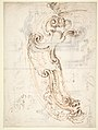 Design for a Cartouche (recto); Designs for Frames (verso) MET DP809336.jpg