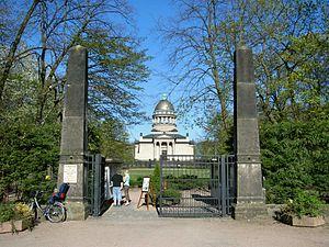 Dessau Zoo - Entrance