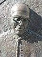 Detail from the statue of Derek Worlock, the former Catholic Archbishop of Liverpool 2.jpg