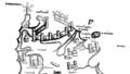 Detail of the Carte de l'Ile de Rhodes Voyage d'Outremer Thenaud 1884.png