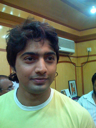 Dev (actor) - Dev at Shree Venkatesh Films's office in 2010
