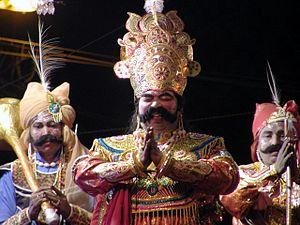 Bargarh - Kansa of Dhanu Jatra