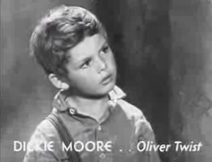 Oliver Twist (1933 film) - Dickie Moore as Oliver Twist