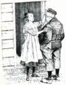 Dik Trom en the blind girl next door by Johan Braakensiek end of 19th century.png