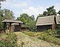 Dimitrie Gusti village museum garden Bucharest Romania.jpg