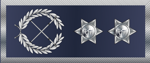 Intendant - Rank insignia of an intendant of the Portuguese Public Security Police.