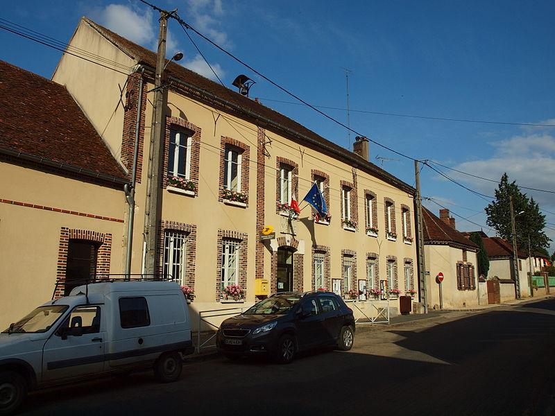Mairie de Dixmont (Yonne, France)