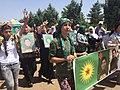 Diyarbakir funeral of 26 y old Hacire died fighting IS in Syria, May 29, 2015.jpg