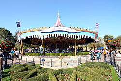 California, Anaheim, Disneyland Resort, Disneyland Park, Fantasyland, King Arthur Carrousel