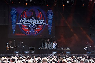 Dokken - Dokken performing at Wacken Open Air 2018