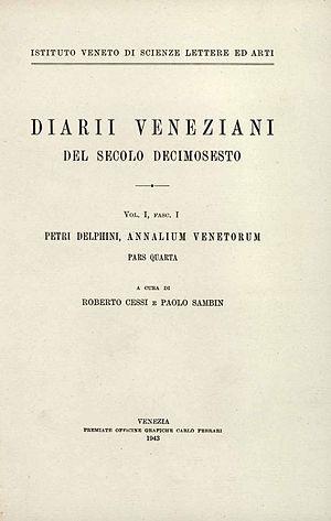 Pietro Delfino - Annalium Venetorum, 1943