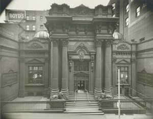 Dollar Bank - Image: Dollar Bank 4th Avenue, Pittsburgh east and west wings