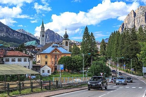 Dolomites Cortina area