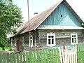 Dom konstrukcji zrębowej na Białorusi.jpg