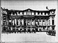 Domaine national, château - Façade, côté cour d'honneur - Saint-Cloud - Médiathèque de l'architecture et du patrimoine - APMH00027193.jpg