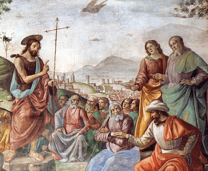 File:Domenico Ghirlandaio - Preaching of St John the Baptist (detail) - WGA8865.jpg