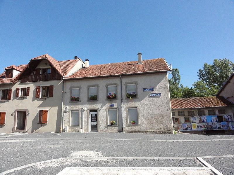 Domnom-lès-Dieuze (Moselle) mairie - école