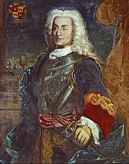Blas de Lezo Spanish admiral