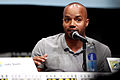 Donald Faison 2013 Comic-Con Kick-ass 2 panel.jpg