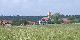 Aßling - Image: Dorfen Aßling 1