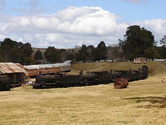 Dorrigo, New South Wales - Image: Dorrigo Steam Trains
