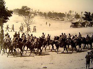 Battle of Kütahya–Eskişehir - Greek troops in Eski Sehir