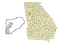 Douglas County Georgia Winston Highlighted.png