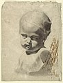 Drawing, Study of a Bust of a Child (from a plaster cast), 1881–92 (CH 18439671-2).jpg