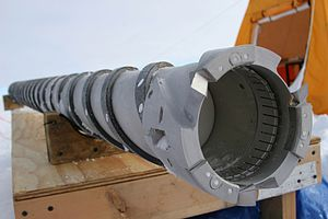 Ice core - Image: Drilling mechanical drill head