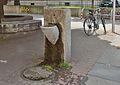 Drinking fountain by Kommunalkredit, Türkenstraße, Vienna.jpg
