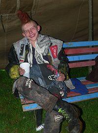 punk fashion wikipedia