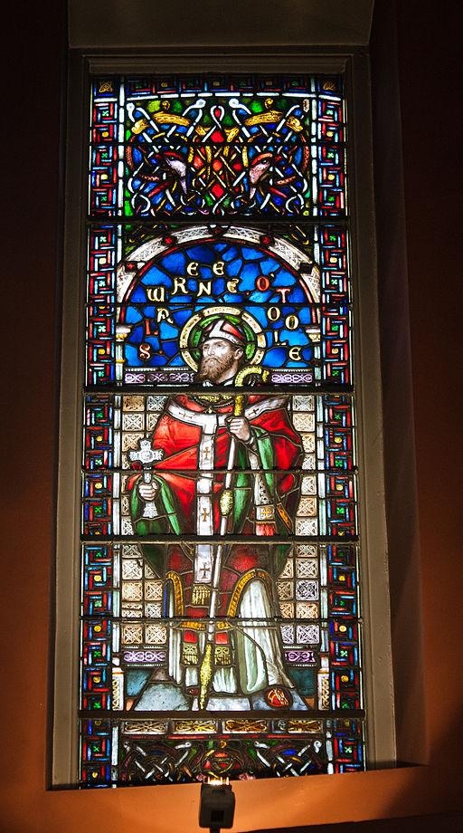 Dublin St. Mary's Pro-Cathedral Ambulatory Window Saint Laurence O'Toole 2012 09 28
