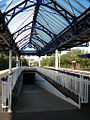 Dumbarton Central station subway and canopy.jpg