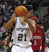 The drafting of Tim Duncan in 1997 was a turning point in the history of the Spurs.
