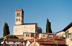 Barga Cathedral.